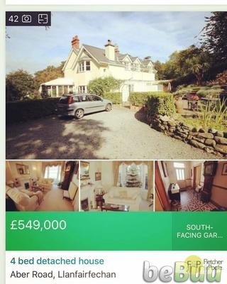 House for Sale, Gwynedd, Wales