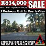 2 Bedroom Unit For Sale In Faerie Glen, Pretoria, Gauteng